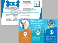 Petkey Pet ID Card