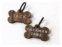 Wooden Pet ID Tag